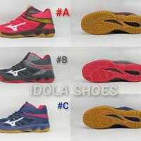 Sepatu Badminton/Volly/Tenis Meja Mizuno Wave Tornado X2 Original