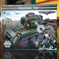 3028 - IN BOX 243PCS ZTZ-97A MAIN BATTLE TANK LEGO KW BRICK SET 400167