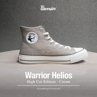 Sepatu Warrior Helios Cream High Original - Cream, 36
