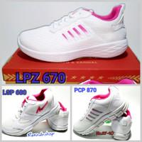 Pro ATT LPZ 670 LGP 680 PCP 870 Sepatu Sneakers Running Wanita