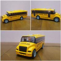 Mainan Diecast Mobil Bus Sekolah - Diecast Mobil Bus Bis Sekolah