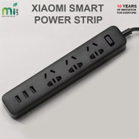 XIAOMI MI SMART POWER STRIP STOP KONTAK COLOKAN ADAPTER 3 USB PORT