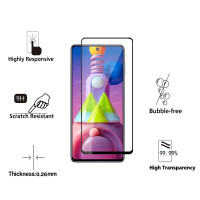 Tempered Glass Samsung Galaxy M51 2020 Full Cover