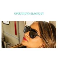 Kacamata Goodr Running Sunglasses MachGs Operation Blackout