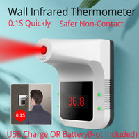 Termometer K3 Thermometer infrared non contact wall mounting