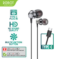 Robot RE240C Type-C High-Definition Sound Quality Ergonomic Design
