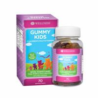 WELLNESS GUMMY KIDS MULTIVITAMIN ISI 70 Gummy Bears
