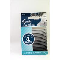 Goody ouchless 04754 4mm shades of gray elastics 17ct ikat rambut