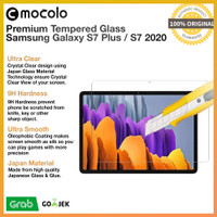 Mocolo Tempered Glass Samsung Galaxy Tab S7 Plus / S7 Anti Gores Kaca