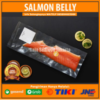Salmon Belly Fillet Segar/Perut Salmon Fresh/Belly Salmon