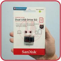 Flashdisk OTG 32GB Sandisk Ultra Dual Usb Drive 3.0 Original