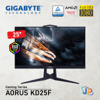 "Monitor Gigabyte LED Gaming Aorus KD25F-EK - Full HD 25"" Inch"