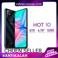 Infinix Hot 10 4GB / 64GB Helio G70T (Garansi Resmi)