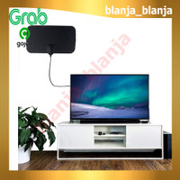 Antena Digital TV 4K High Gain 25dB Indoor Dalam Ruangan Taffware BL56