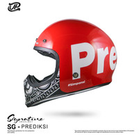 JP Retro Signature Prediksi - Red Ferrari Gloss