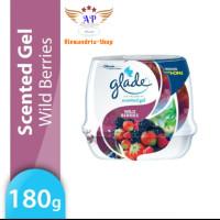 Glade Scented Gel Wild Berries 180 Gr Pengharum Mobil dan Ruangan