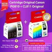 PAKET Canon PG810 Black CL811 Color Cartridge Tinta iP2770 MP287 MX366