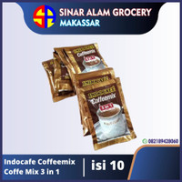 Indocafe Coffeemix Coffe Mix 3 in 1 isi 10