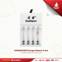 DOUBLEPOW Charger Baterai 4 slot AA/AAA EPC-BTY-14M