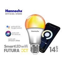Hannochs Smart LED Futura 9 / 14 watt CCT - Lampu Led Pinter Wifi