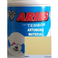 Cat Tembok 5 Kg TERMURAH Aries Avitex Avian Kuning Terang (Canary 691)