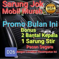 sarung jok mobil panther - sporty deluxe