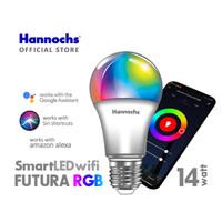 Hannochs Smart LED Futura RGB 9 / 14 watt - Lampu Pinter Wifi Warna