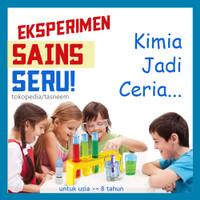 Mainan Edukasi Anak SD - Set Alat Kimia - Eksperimen KIMIA Anak, Sains