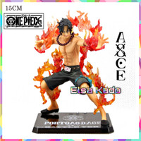Action Figure One Piece Ace Zoro Luffy Battle Ver