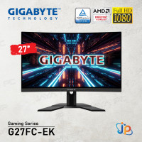 "Monitor Gigabyte LED Gaming G27FC-EK - Curved Full HD 27"" Inch"
