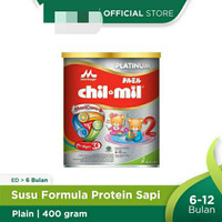 ChilMil Platinum 400 Gram Susu Kalbe Morinaga CHIL MIL MORICARE KALENG