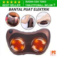 Bantal Pijat Elektrik Shiatsu Heat Neck Massage Pillow Electric 8 Bola