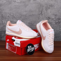 Sepatu Nike Cortez Lux Pearl Pink Leather Kulit