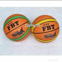 BOLA BASKET MERK FBT SIZE 7 RUBBER NYLON BASKET BALL NO 7 ORIGINAL FBT
