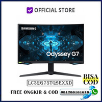 """Monitor Led Samsung Gaming Odyssey G7 LC32G75 C32G75TQSE 32"""" Curved"""