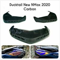 Ducktail New Nmax 2020 Carbon NEMO Sirip Lampu Belakang New Nmax Nemo