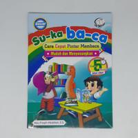 buku tk - Suka baca dasar / lanjutan - zikrul kids