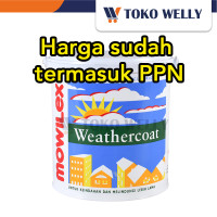 Cat Tembok Weathercoat / Cat Tembok Eksterior / 2.5 L