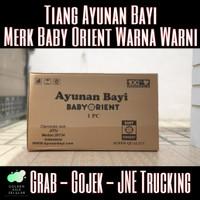 Tiang Ayunan Bayi Portable Warna Warni Merk ORIENT SET (TIANG+RODA)