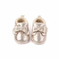 Sepatu Bayi Perempuan Prewalker Shoes Baby Import Pita Gliter Metalik