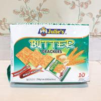 Biskuit Julie's Butter Crackers 250 gram / Biscuit Mentega