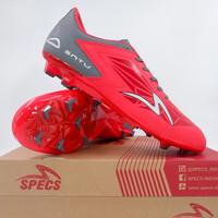 Sepatu Bola Specs Accelerator Satu Pro FG Emperor Red 101282 Original