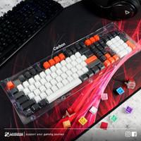 Keycaps CLV Mix Color Custom Laser Engraved Injection PBT Keyset 104