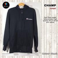 jaket hoodie pria champion premium import