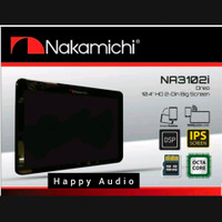 Head Unit Double Din Android Nakamichi NA-3102i 10 Inch Built In DSP