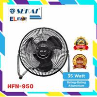Sekai high velocity fan HFN950 /kipas angin besi 9inch/desk fan tornad