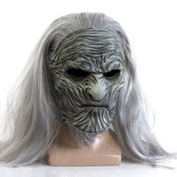 Game of Thrones White Walkers Mask Night King Mask Topeng Halloween