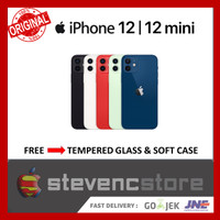 [DUAL] iPhone 64GB 128GB 256GB 12 / Mini Black Blue Green Red 13 White