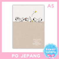 Snoopy Planner 2021 Size A5/B6 | Hallmark Monthly Planner