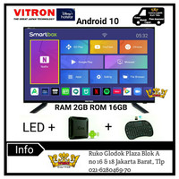 VITRON LED TV 32inch Smart Android Box Ram2GB LTV 3265